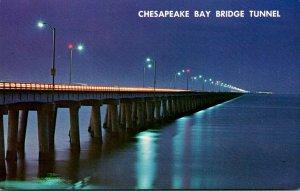 Virginia Chesapeake Bay Bridge-Tunnel Connecting Viorginia Beach & Eastern Shore