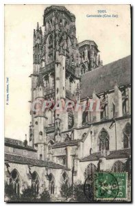 Old Postcard Toul Cathedral East Coast