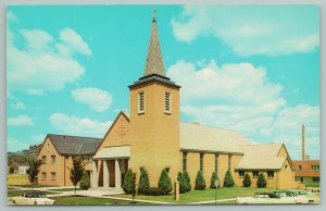 Rapid City South Dakota~Trinity Lutheran Church~Vintage Postcard