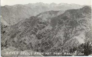 RP of Seven Devils Idaho from Hat Point Road Oregon