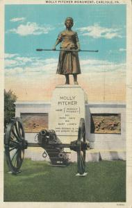 CARLISLE, Pennsylvania, PU-1931; Molley Pitcher Monument