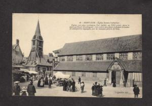 France French Honfleur Church Eglise Sainte Catherine Carte Postale Postcard