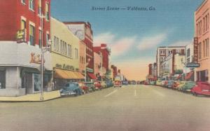 VALDOSTA , Georgia , 1930-40s ; Street Scene, Store Fronts