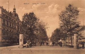 Berlin, Germany, Unter den Linden, Early Postcard, Unused