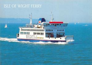 Isle of Wight Ferry St. Faith Boat