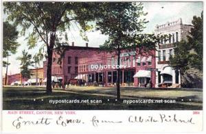 Main Streets, Canton NY