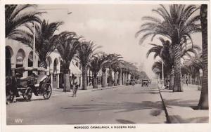 RP; Casablanca , Morocco , 20-30s , Modern Road