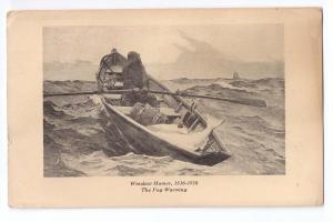 Winslow Homer The Fog Warning 1948