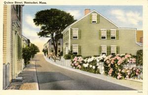 MA - Nantucket. Quince Street