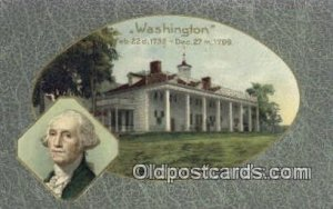 George Washington, 1st President USA Political Unused close to perfect