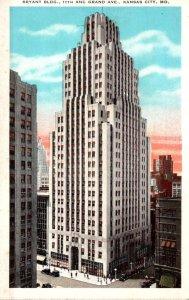 Missouri Kansas City Bryant Building 11th and Grand Avenue Curteich
