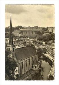RP  Luxembourg, Faubourg du Grund, 20-40s