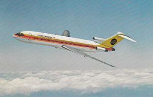 Boeing 727 Trijet - Continental Airlines - Aviation