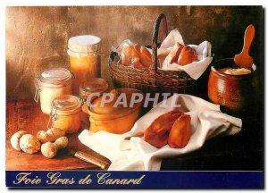 Postcard Modern Duck Foie Gras