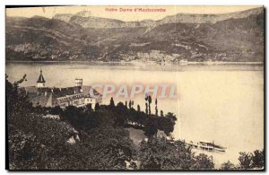 Old Postcard Notre Dame D Hautecombe