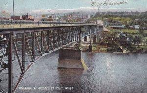 ST. PAUL, Minnesota, PU-1908; Wabasha St. Bridge