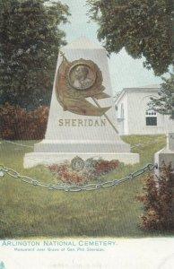 ARLINGTON, VA,1901-07; Monument over Grave of Gen. Sheridan,  National Cemetery