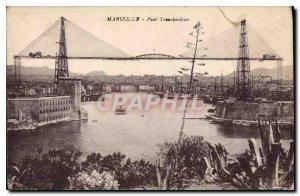 Postcard Old Marseille Transporter Bridge
