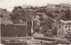 DYSERTH , Denbighshire , Wales , 1910s ; Waterfall & Gardens
