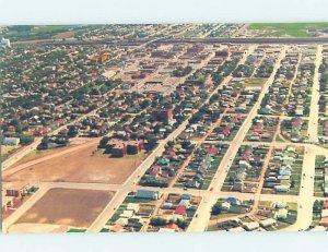 Pre-1980 AERIAL VIEW Swift Current Saskatchewan SK AD0063