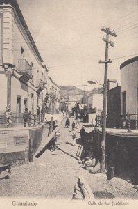 GUANAJUATO , MEXICO , 1901-07 ; Calle de San Jeronimo