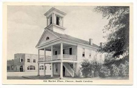 Old Market Place, Cheraw, South Carolina, 1920-40s
