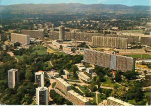 Lyon Bron Rhone France La Duchere Aerial View Town   Postcard  # 7326