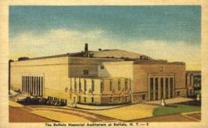 The Buffalo Memorial Auditorium Buffalo NY Unused
