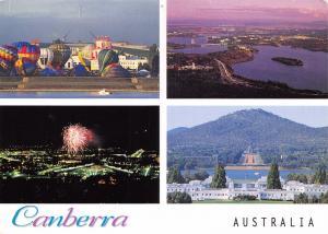 Postcard CANBERRA Australia Multiview