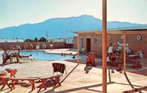Desert Hot Springs California Park West Mobile Home Club Postcard K83374