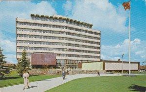 EDMONTON , Alberta , Canada , 50-60s ; City Hall