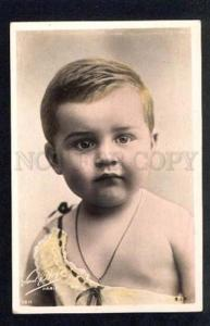 034839 Plump Boy. Vintage Tinted PHOTO pc
