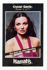 Singer Crystal Gayle, 60-70s