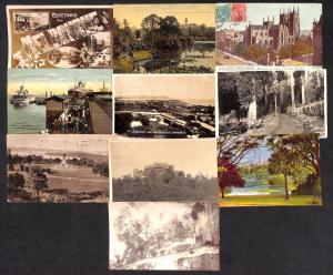 Australia lot 10 vintage postcards