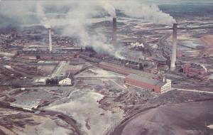 Aerial view of Copper Cliff Smelter of International Nickle Co.,  Ltd.,  Sudb...