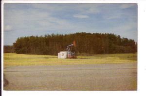 Oil Well, Lloydminster,  Saskatchewan and Alberta