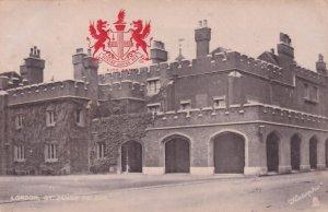 Domine Dirice Nos City Arms St James Palace London Old Postcard