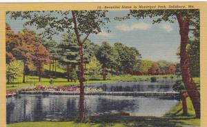 Beautiful scene in Municipal Park, Salisbury, Maryland,   30-40s
