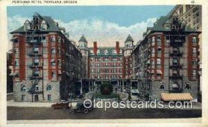 Portland Hotel Portland OR Unused