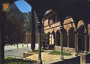 POSTAL 57371: Montserrat detalle del Barrio Gotico