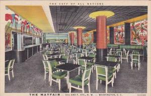 The Caff Of All Nations The Mayfair Restaurant Dining Room North West Washing...