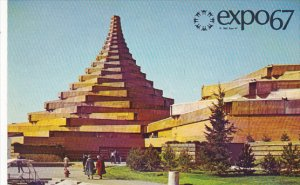 Man In The Community and Man and His Health Complex Expo67 Montreal Canada
