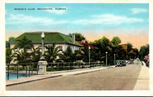 Florida Bradenton Woman's Club 1934