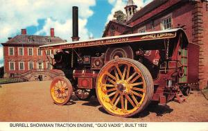 Golden Dragons, Burrell Showman Traction Engine Quo Vadis Agriculture 1922