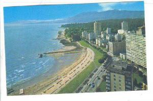 Air view, The Surf Apt. Hotel, Vancouver, B.C.,  Canada, 40-60s