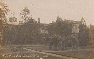 RP: St Osyth , Essex , England ,1915 ; Priory , North Side
