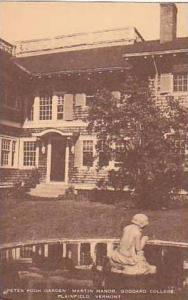 Vermont Plainfield Peter Pooh Garden Martin Manor Goddard College Artvue