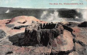 The Brain Pot, Whakarewarewa, New Zealand, Early Postcard, Unused