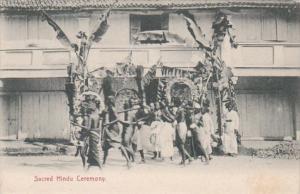 Straits Settlements Sacred Hindu Ceremony