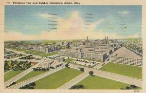 AKRON, Ohio, 1930-40s; Firestone Tire and Rubber Company